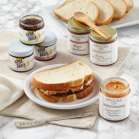 Gourmet PB&J Triple Play