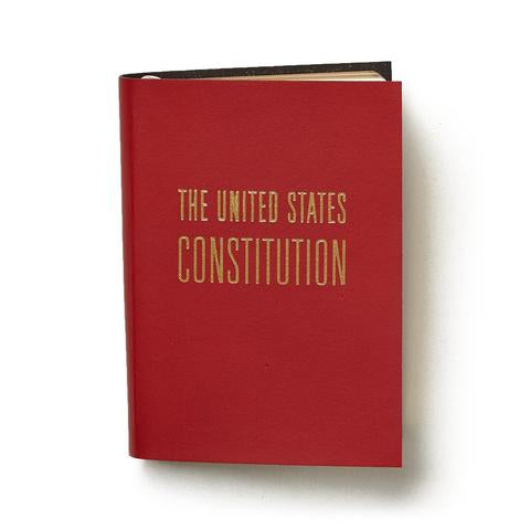 Graphic Image Leather Bound Mini Constitutions, 2.75