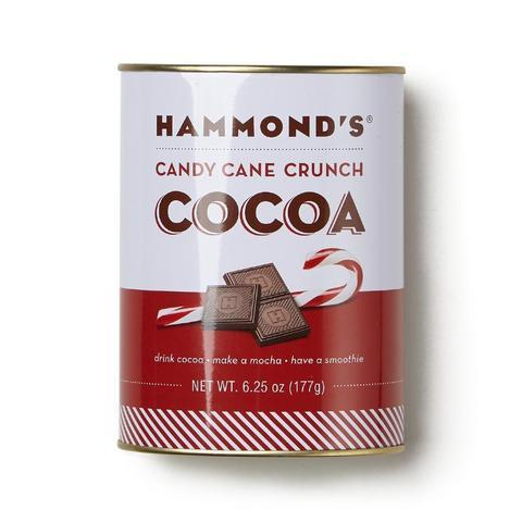 Hammond's Candy Cane Crunch Cocoa Mix, 6.25 oz tin