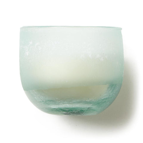 Frosted Glass Candle - Fresh Sea Salt