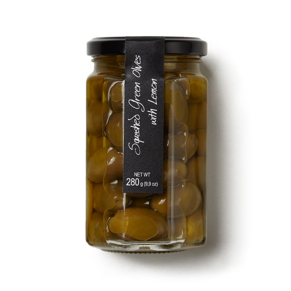 Ritrovo's Italian Olives With Lemon, 9.9 oz jar