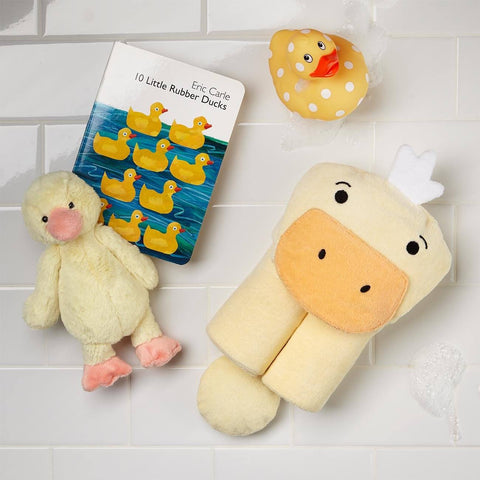 Yellow Duckling Bath Time For Kids Gift Box