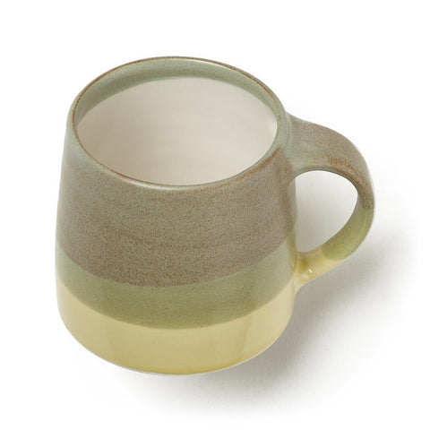 Moss Green Double Glazed Mug