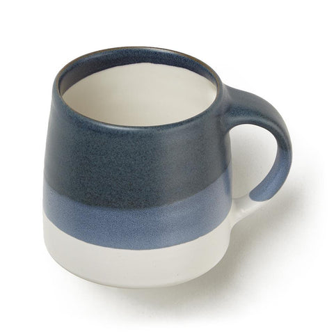 Navy Double Glazed Mug