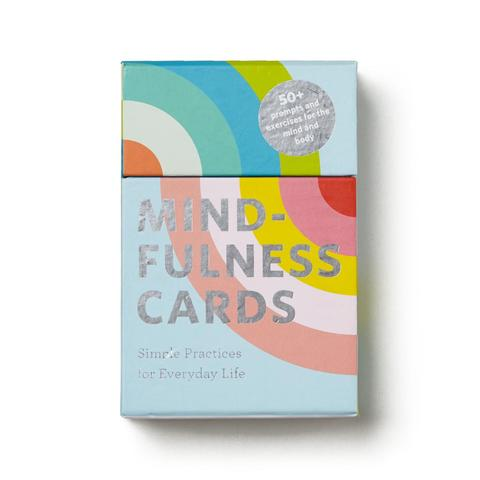Chronicle Books Mindfulness Cards, 3.75