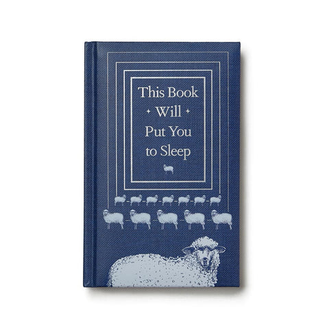 This Book Will Put You to Sleep, hardcover, 5