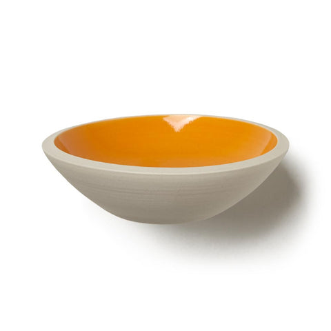Porcelain Trinket Tray - Orange
