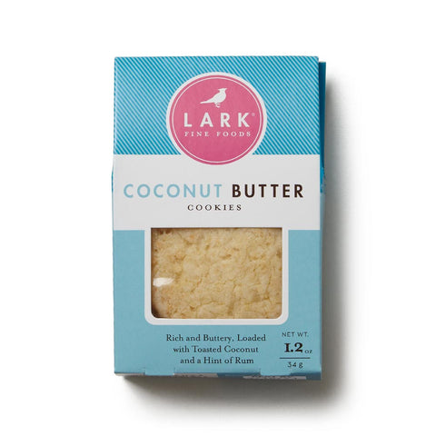 Coconut Butter Cookies, 1.2 oz
