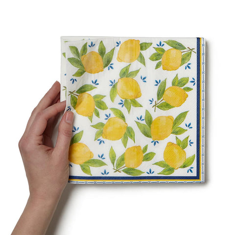 Lemon Dinner Napkins
