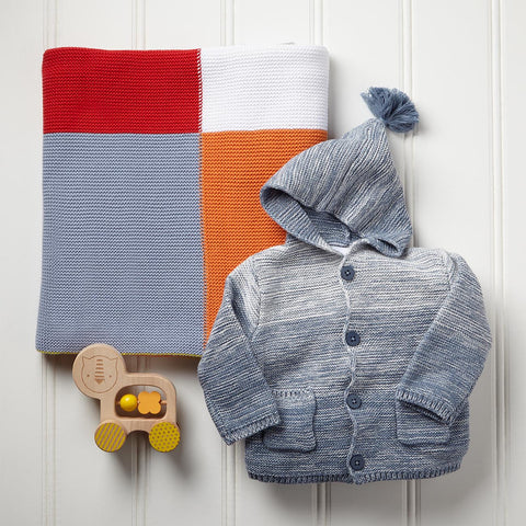 Blanket And Sweater Gift Set For Baby