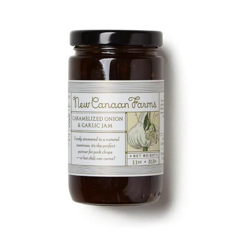 New Canaan Farms Caramelized Onion & Garlic Jam, 11 oz