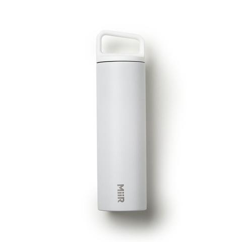 White Vacuum Insulated Wide Mouth Bottle