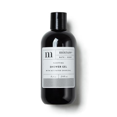 Mixture Charcoal Activated Shower Gel, 8 oz