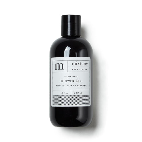 Charcoal Activated Shower Gel
