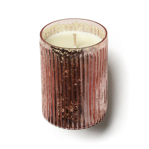 Pink Pinstripe Candle