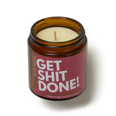 Get Shit Done Candle