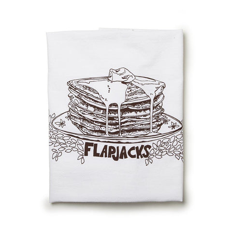 Flapjacks Tea Towel