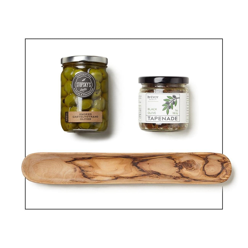 Olives And Serving Dish Gift Set