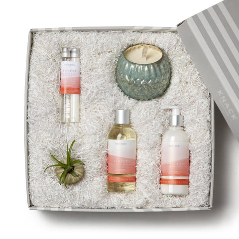 Body Lotions And Candle Spa Gift Box