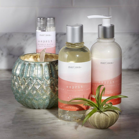 Candle And Skin Care Spa Gift Set