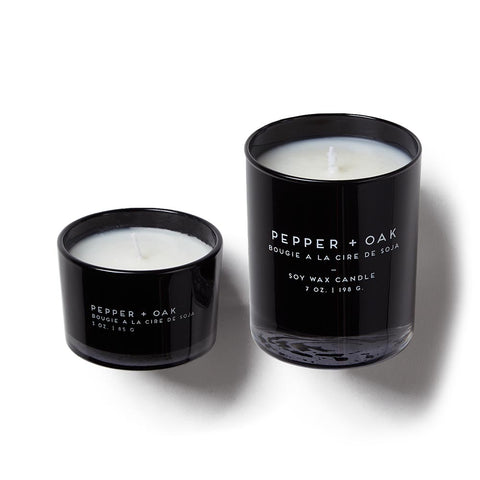 Pepper & Oak Candle