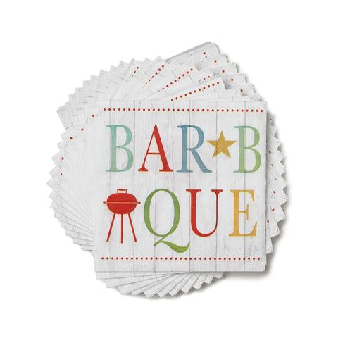 Paperproducts Design BarBQue Beverage Napkins, package of 20, 5