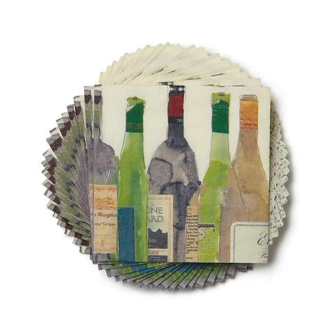 Paperproducts Design Wine Beverage Napkins, package of 20, 5