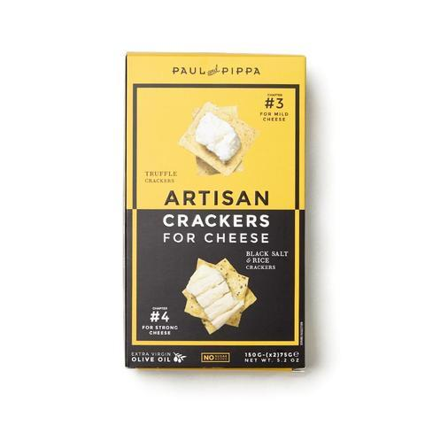 Truffle/Black Salt Artisan Crackers
