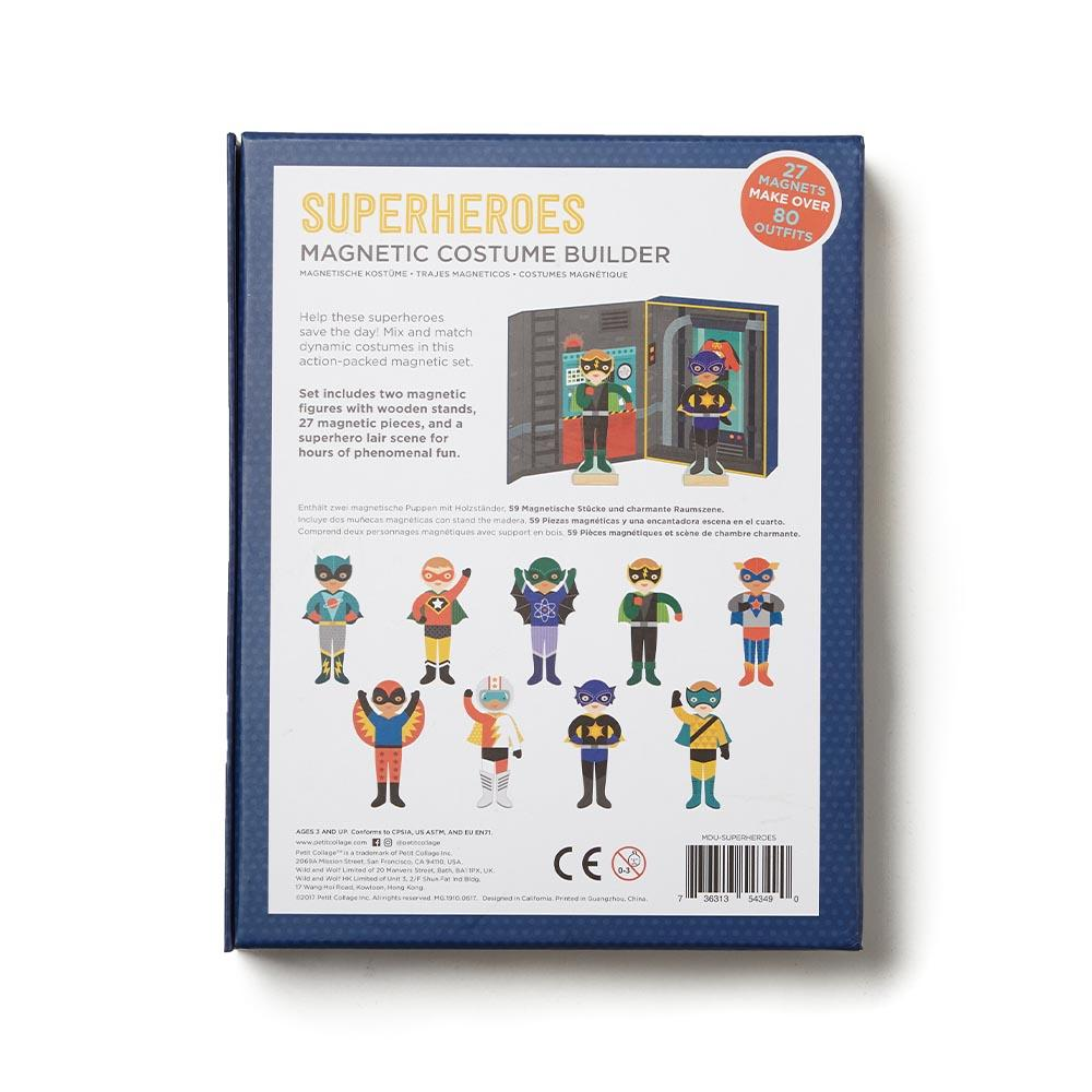 Superheroes Magnetic Dress Up