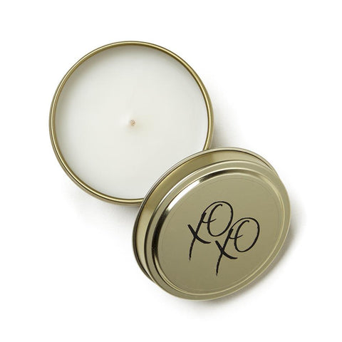 XOXO Celebration Tin Candle