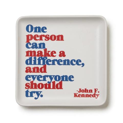 Rosanna JFK Quote Tray, 5