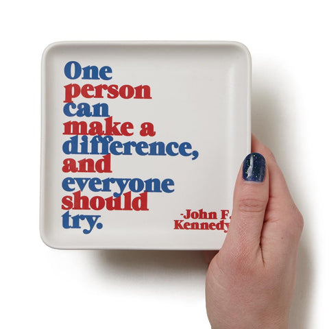 JFK Quote Tray