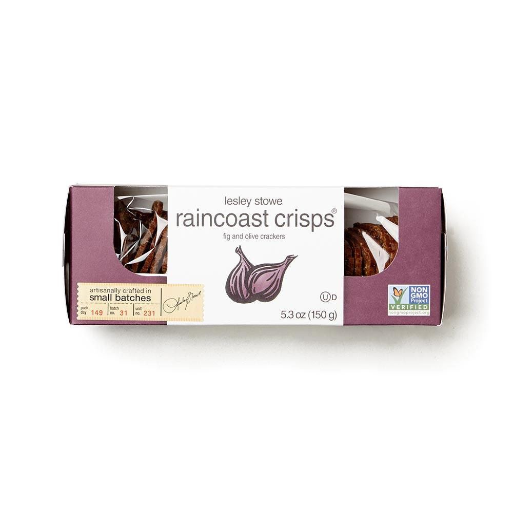 Lesley Stowe Raincoast Crisps - Fig & Olive Cracker Crisps