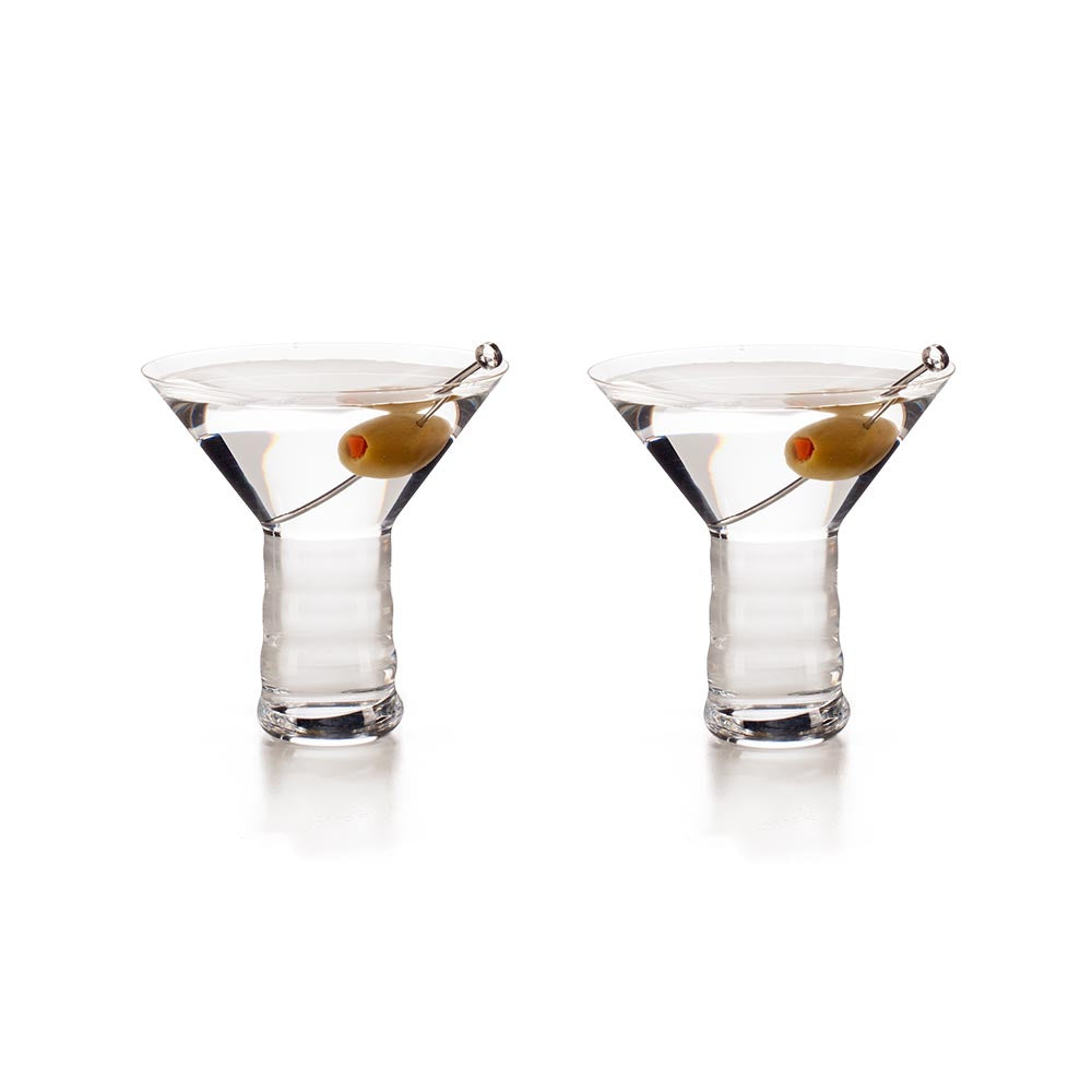 2 Riedel O Martini Glasses, 10.4 oz