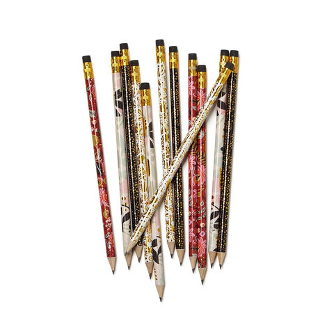 Modernist Writing Pencils - Box of 12