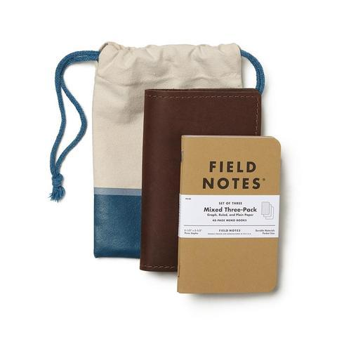 Rustico Field Leather Notebook