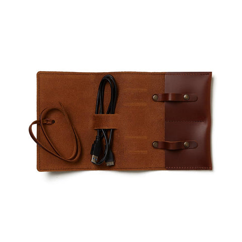 Sidekick Leather Cord Wrap