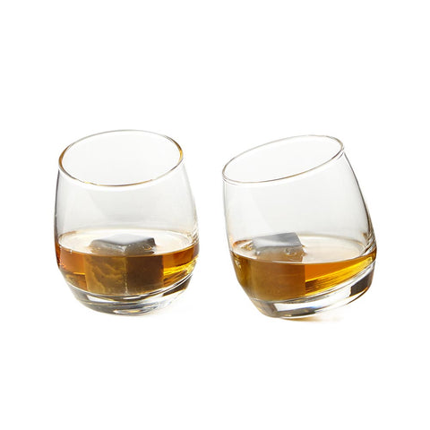 Rocking Tumblers & Drink Stones, Set of 2