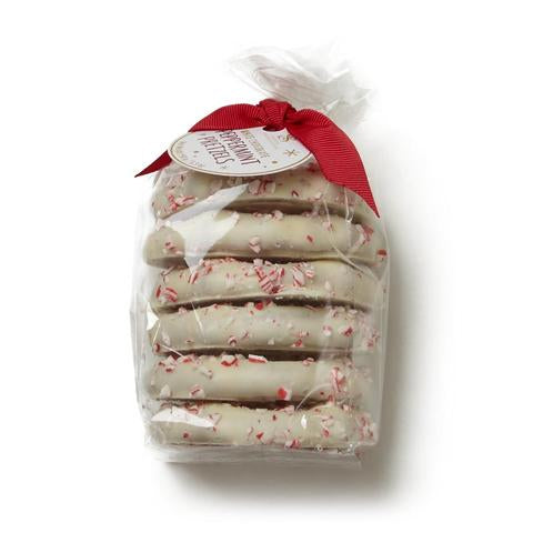Saxon Chocolates Peppermint Chocolate Pretzels, 6 per bag