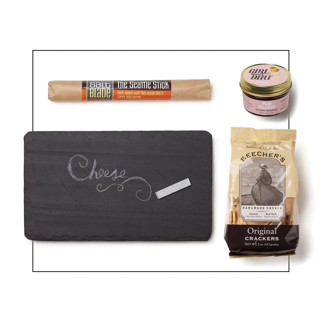 Seattle Appetizer Trio With Slate Board Gift Set