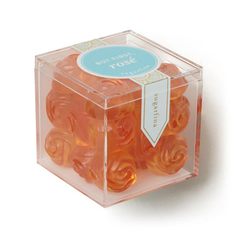 Sugarfina But First, Rosé Roses, net wt 4.0 oz, approx. 25 pieces