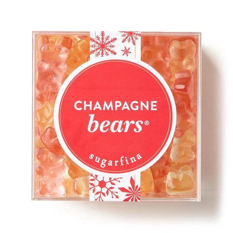 Holiday Champagne Bears