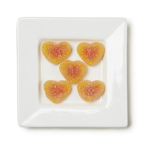Peach Bellini Hearts