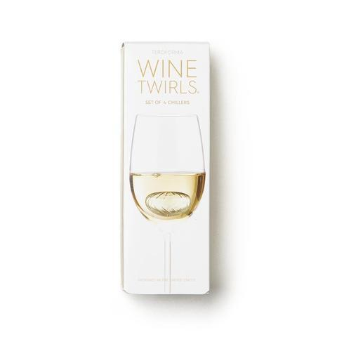 Wine Twirls® Wine Chillers, box of 4
