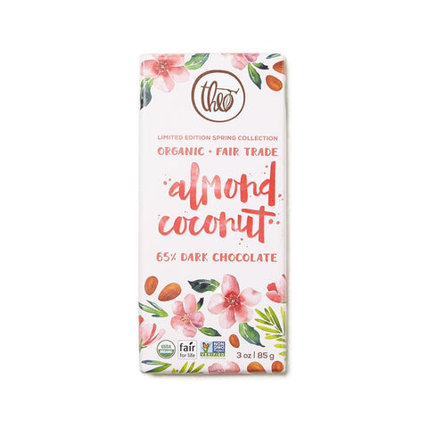Almond Coconut Chocolate Bar