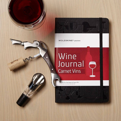 Wine Journal And Accessories Gift Set