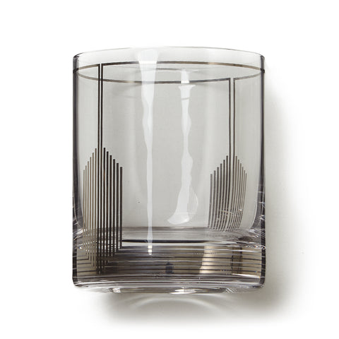 Empire Deco Rocks Glass