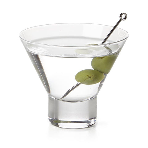 Stemless Martini Glass