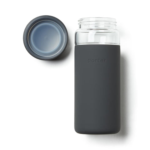 Porter Wide Mouth Bottle - Charcoal