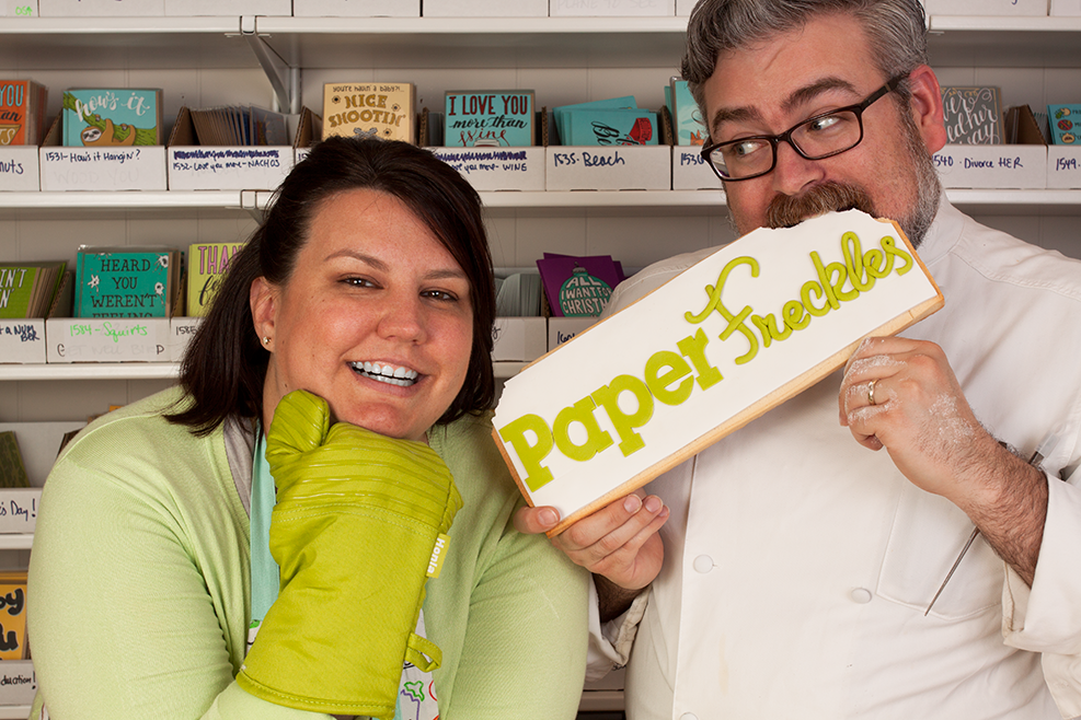 PaperFreckles owners Coleen and Joe Akers
